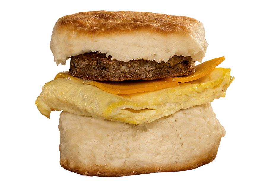 Bryants Breakfast, Sausage Biscuit
