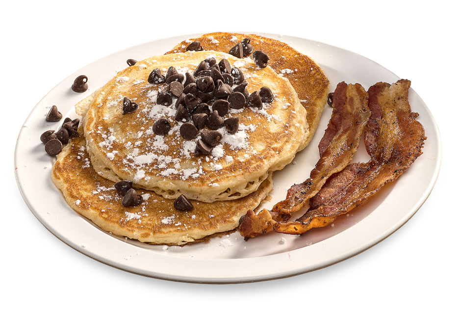 Bryant's Breakfast, Chocolate Chip Pancakes, Memphis