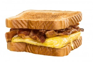 Bryant's Breakfast, Bacon & Egg Sandwich