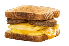Bryant's Sausage & Egg Sandwich