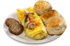 Omelet, Bryants Breakfast, Memphis